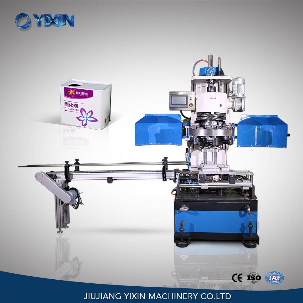 1-5L China automatic can sealing machine, sealer for rectangular tin can
