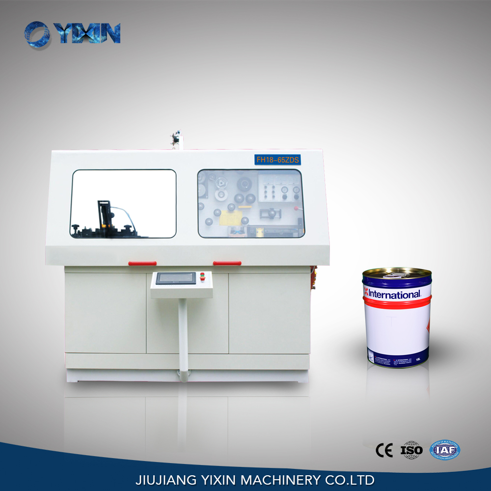 10-25L Automatic round drum food lubricant oil tin can seam welding machine
