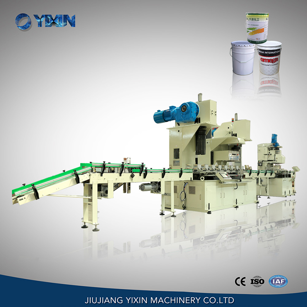 10-25L conical can full-auto can body combination machine