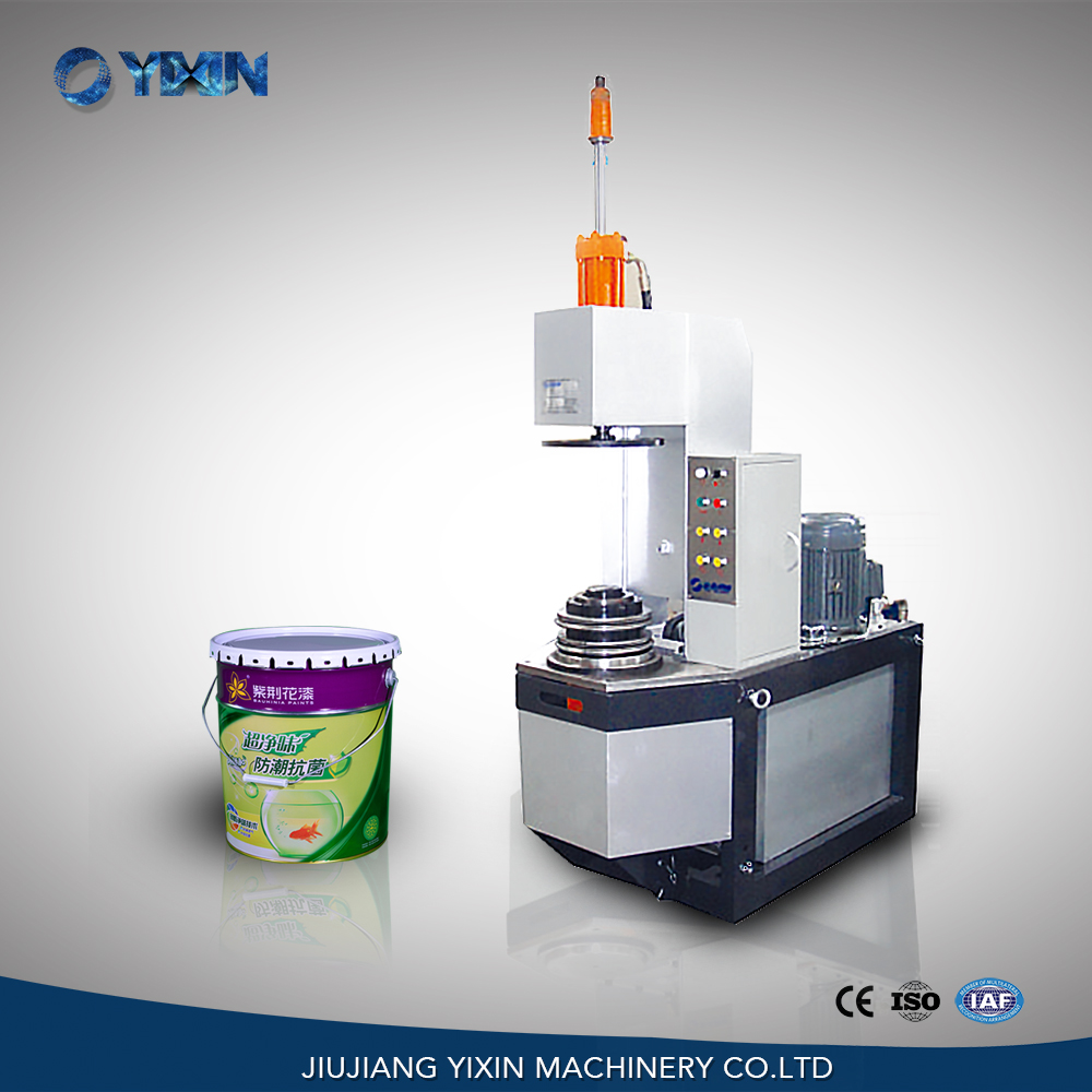 3TC20 Hydraulic Conical Round Tin Can Curling Beading Machine Manufacturer