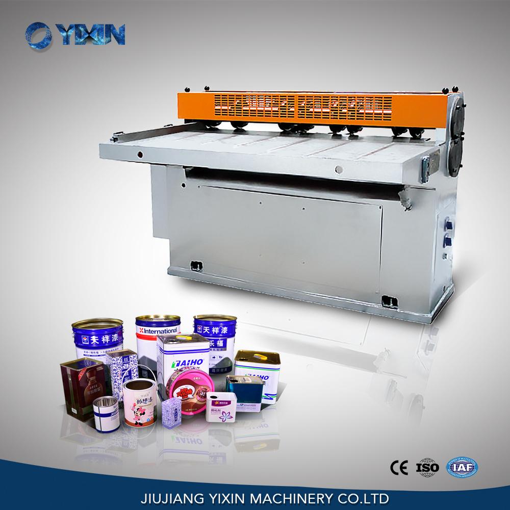 GT1B5B Cheap Tinplate Cutter Slitter Machine For Round Drum Tin Can Making