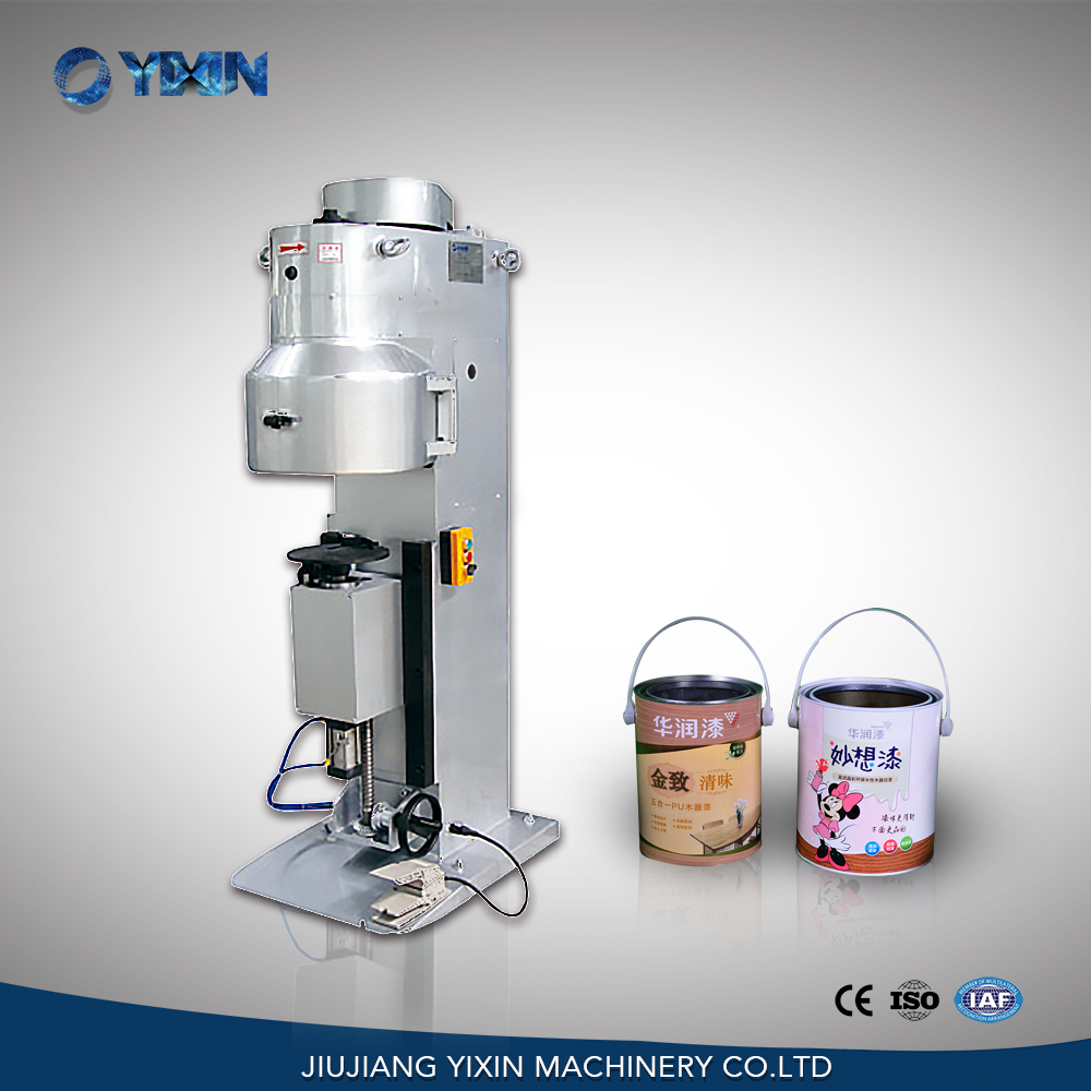 GT4A68Q pneumatic round can seaming machine for medicine, paint, oil tin can