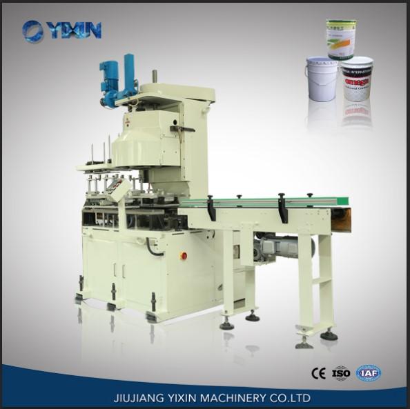 GT4B30 Automatic round drum tin can sealing machine, seamer China supplier