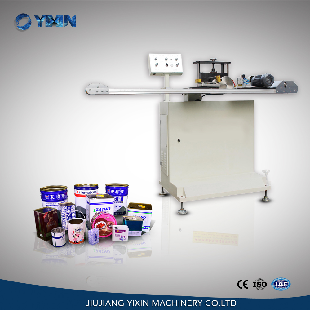Inside outside electrical coating machine for square metal tin can