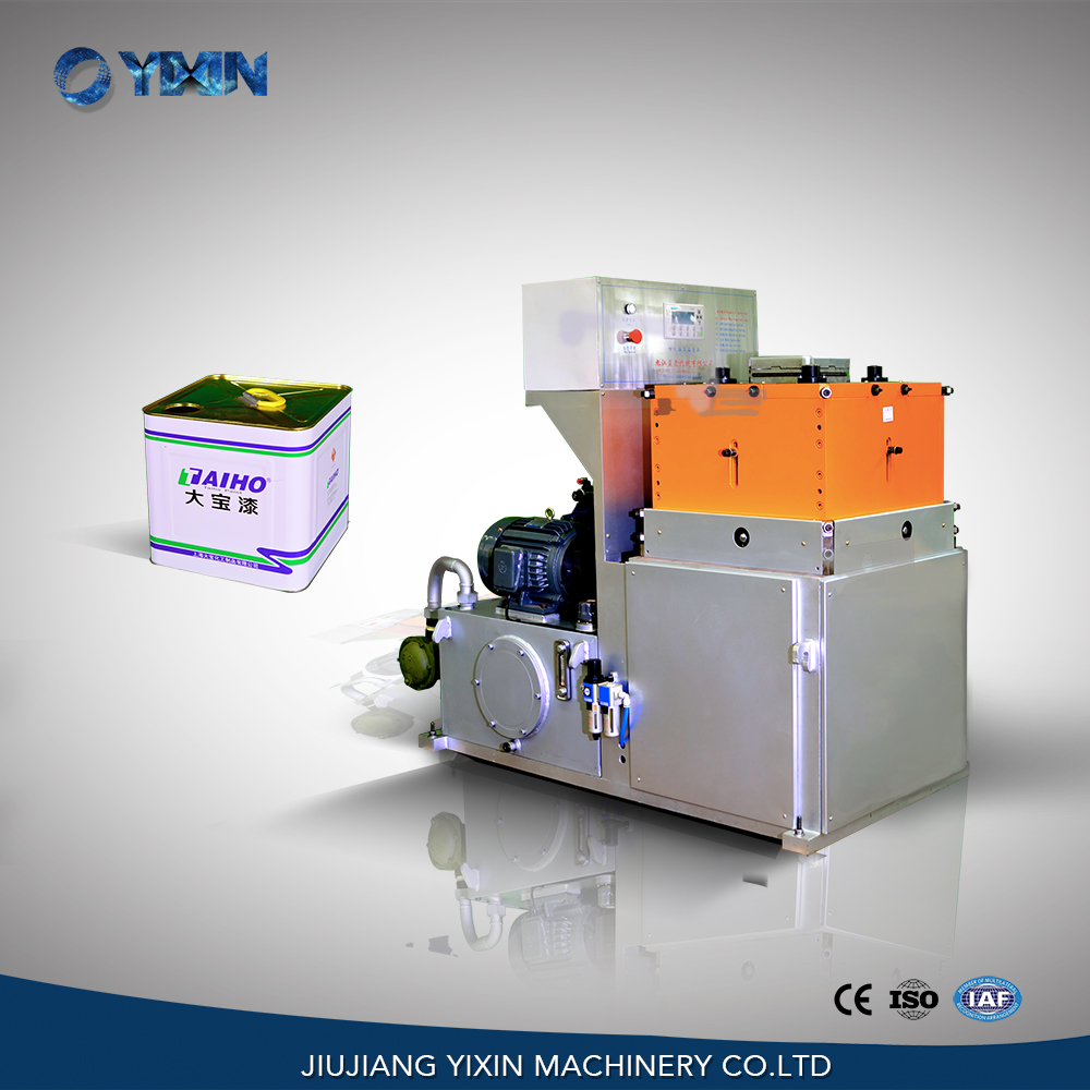 YX-18LC mechanical square can body flanging forming necking machine for sale