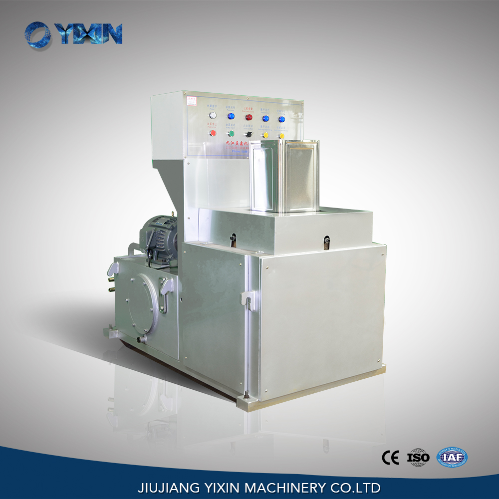 YX-18LF semi automatic hydraulic vertical square tin can flanging machine