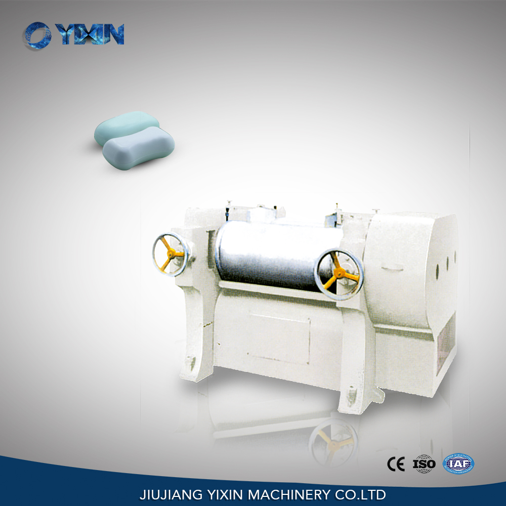 Buy S260 triple three roller laundry soap grinder machine from China